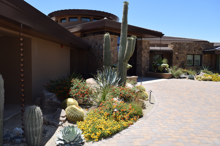 Backyard Design Oro Valley - The Garden Gate - Landscape Design At An Affordable Price - Tucson's